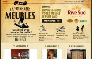 Foire aux meubles - Meubles Rive Sud