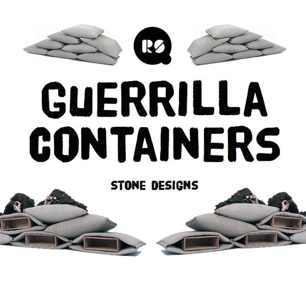 guerilla-container-stone design - RS