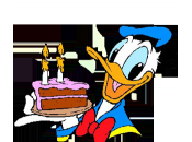 Joyeux Anniversaire Donald Duck