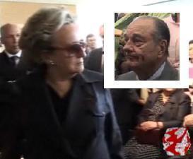 Jacques Chirac pris la main dans le sac (pas de Bernadette)