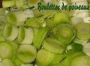 Boulettes Poireaux