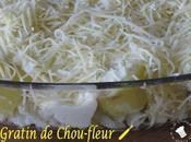 Gratin Chou-fleur Pommes terre