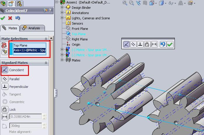 How to animate simple Spur Gear in SolidWorks - Paperblog
