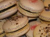 Macarons ganache chocolat noir