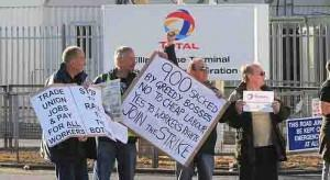Britain Strikes Total licenciements ps76 76 source http://www.lefigaro.fr