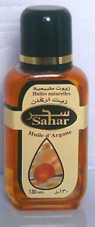 L'huile vierge  d'argan pure 100 % naturelle