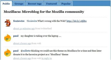 Mozilla a voulu son Twitter
