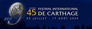 Programme du Festival International de Carthage 2009