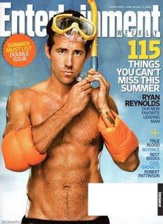 [photoshoot] Ryan Reynolds dans EW