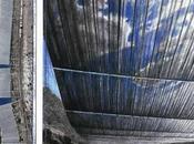 Timbre d'artiste Christo emballé Poste