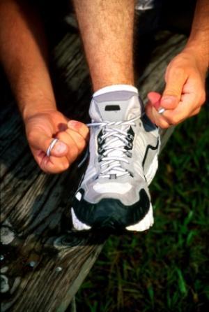 chaussure de marche (illustration)