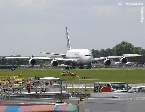 Airbus A380 Aéro 2009 Le Bourget