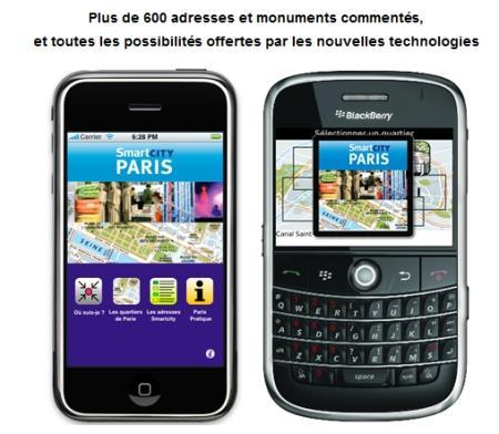 Les institutionnels se lancent dans les applications sur iPhone [1]