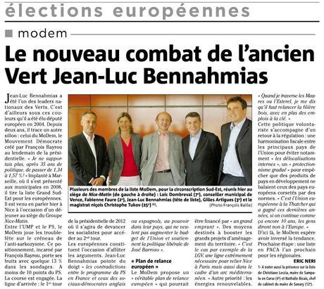 Le nouveau combat de l'ancien Vert Jean-Luc Bennahmias