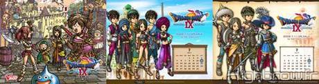 Calendriers de l'avent pour Dragon Quest IX