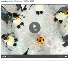 Voir la vidéo sur guardian.co.uk