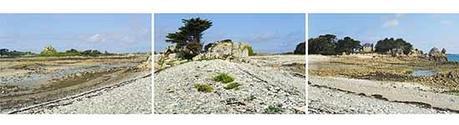 Le cordon de galets des îles de Bugueles