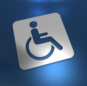 handicapé logo (illustration)