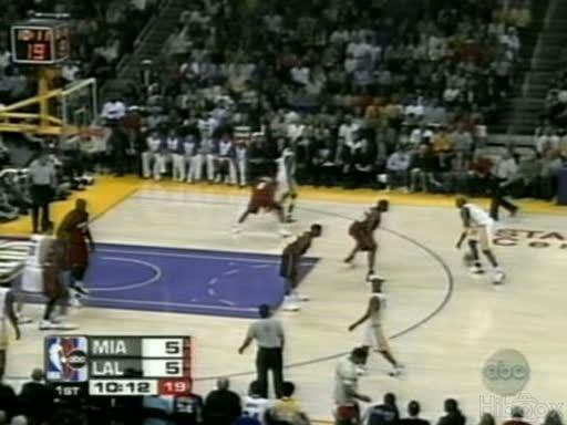 [ Upload ] 25.12.04 Heat @ Lakers - Kobe vs Shaq