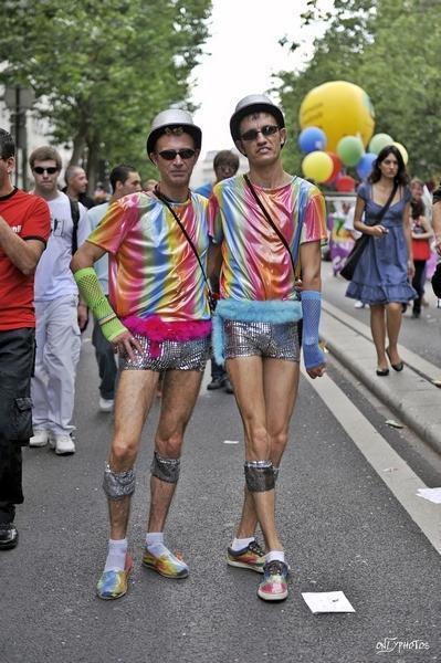 Marche des fiertés 2009 - Ex Gay Pride - Paris.