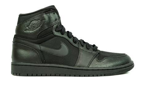 AIR JORDAN 1 HIGH OSTRICH BLACK