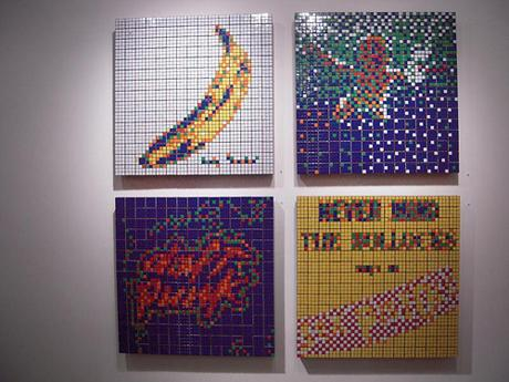INVADER - TOP 10 @ JONATHAN LEVINE GALLERY NY - OPENING