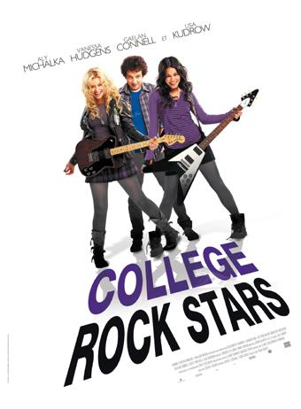 High school Bandslam devient College Rock Stars !