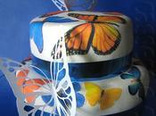 Cinquante-neuvième participation Gâteau papillons