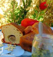 Cake aux parfums méditerranéens