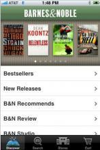 Barnes & Noble lance son application iPhone/iPod Touch