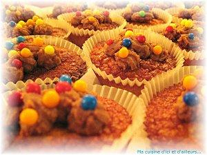 Cupcakes tout nuts !!!