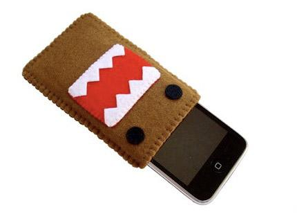 iphone  Etui Domo Kun pour vos iPhone iPod