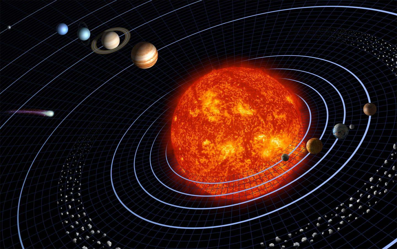 La Terre en orbite autour du Soleil