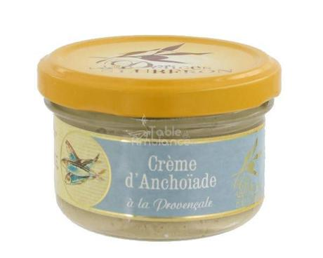 Crème d'anchoïade à la Provençale,Délices du Lubéron