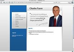 Charles Favre : le candidat furtif