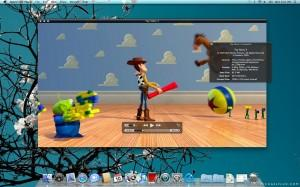 La nouvelle interface de QuickTime X