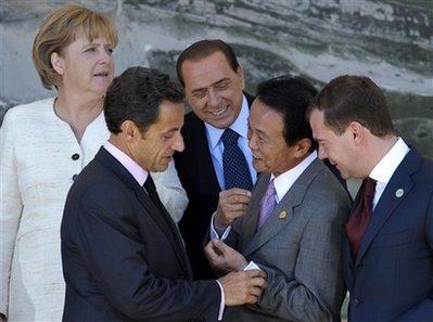 Les meilleures photos du G8
