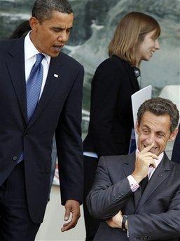 Barack engueule Nico pour changer