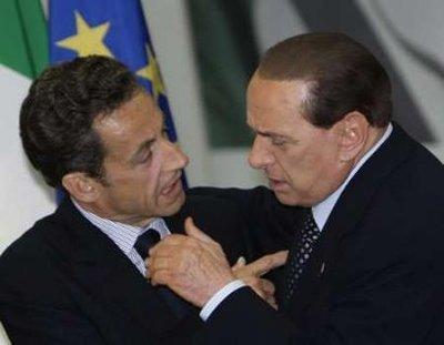 Alors mon petit Silvio, j'te le dis en ami : Carla c'est propriété privée ok !