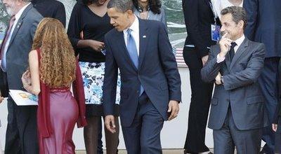 Oh beh alors Barack !!! C'est Silvio est Nico qui déteignent sur toi ??