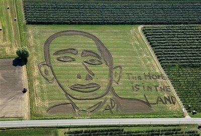 Barack Obama sans Photoshop, ça craint ! Obama is green