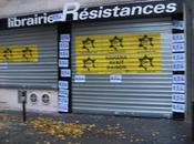 """Attaque contre librairie """"Résistances"""" Paris"""