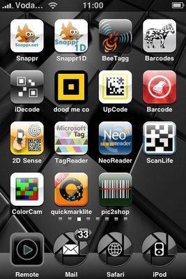 Un point sur l'Iphone et les code-barres (1D et 2D)