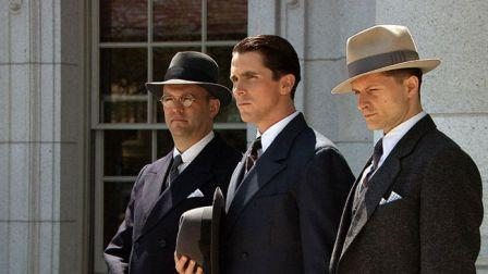Chandler Williams, Christian Bale et Geoffrey Cantor