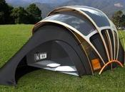 tente solaire Wi-Fi Orange