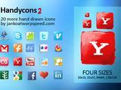 Nouvelles icônes gratuites médias sociaux