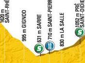 Tour France 2009 16ème étape Martigny Bourg-Saint-Maurice parcours)