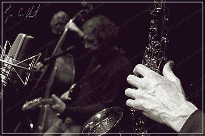 Gianmaria Testa Trio with Nicola Negrini (bass) and Piero Ponzo (sax)