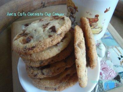 Avoca Cafe Chocolate Chip Cookies