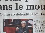 Frédéric Mitterrand artiste très modeste.